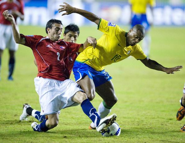 Brasil y Chile en Clasificatorias a Sudáfrica 2010, 9 de septiembre de 2009