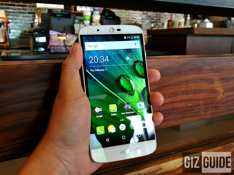 Acer Liquid Zest Plus unboxing and first impressions