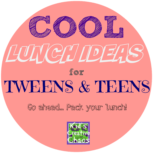 Cool Creative Lunch Box Ideas for Tweens Teens