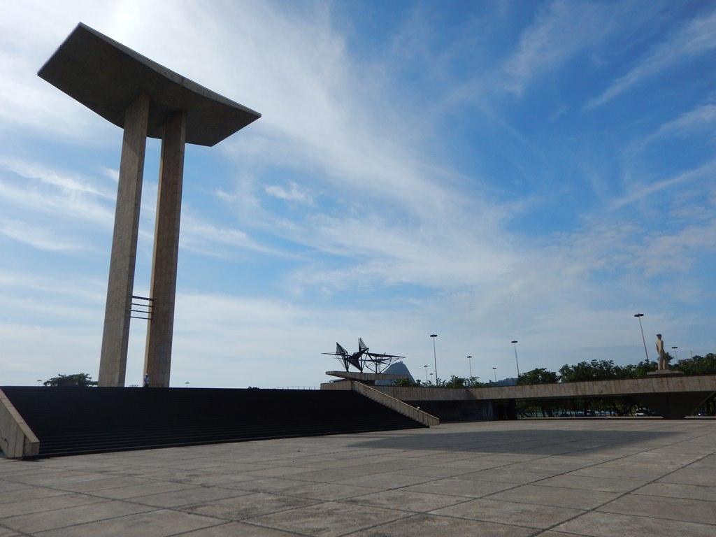 Monumento aos Pracinhas no Rio de Janeiro