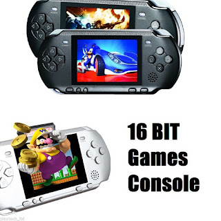 NEW 2.7″ Portable Video Game 16bit Handheld lite Console bundle100+Games £12.99