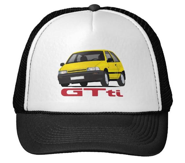Daihatsu Charade GTti trucker hats