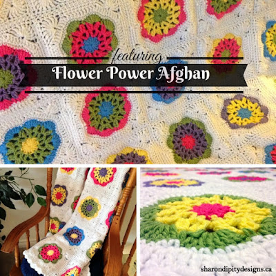 Flower Power Afghan