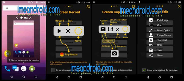 Cara screenshot panjang menggunakan aplikasi
