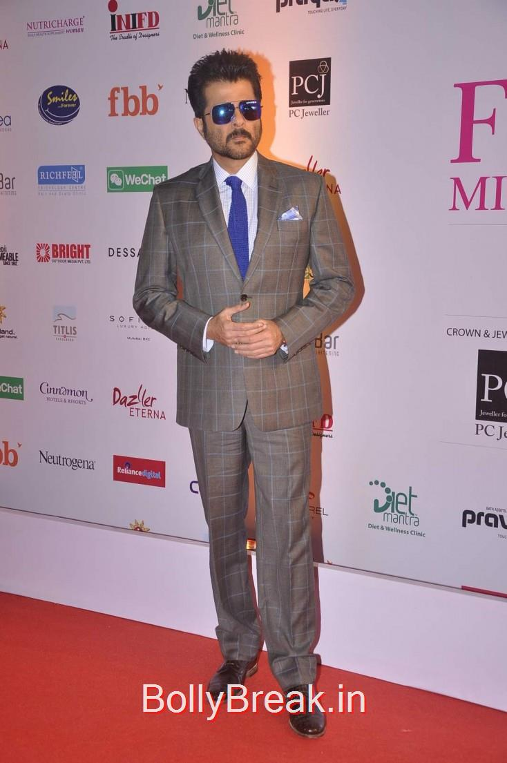 Anil Kapoor, Femina Miss India 2015 Red Carpet Photo Gallery
