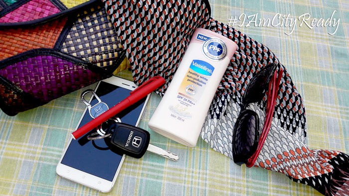 Vaseline Sun+Pollution Protection Lotion Campaign