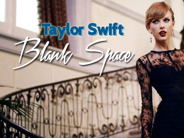 Blank Space Taylor Swift Music Letter Notation With