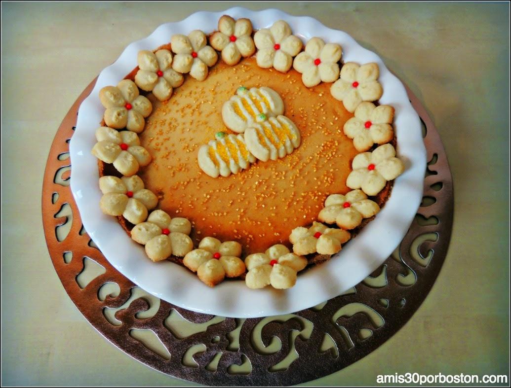 Tarta de Chocolate y Caramelo con Galletas de Mantequilla
