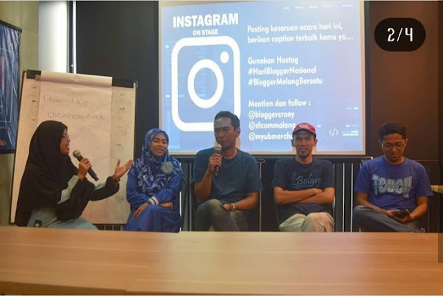 Hari Blogger Nasional: Blogger Malang Bersatu di Era Industri 4.0