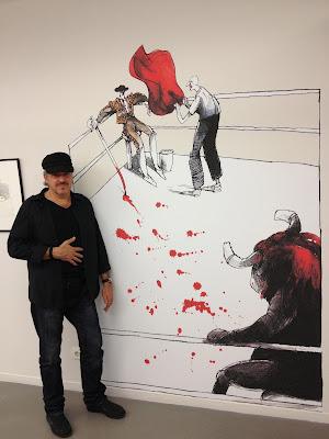 Caricaturista Cubano residente en México desde 1992, nacido en San Antonio de los Baños, Cuba, pueblo conocido como -LA VILLA DEL HUMOR.