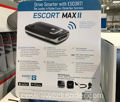 Costco 995982 - Escort Max II Radar Detector: great for any car and driver
