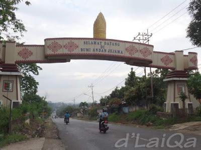 memasuki wilayah Kabupaten Pesawaran