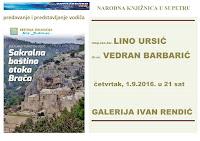 Sakralna baština otoka Brača, predavanje i predstavljanje vodiča Supetar slike otok Brač Online