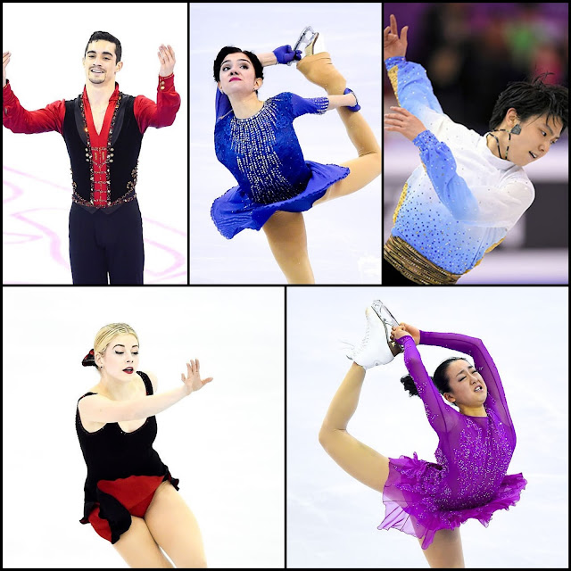 ICE STYLE.....ISU Grand Prix of Figure Skating Finals 2015/2016 Barcelona: Costumes Recap & Highlights--LADIES and MEN!
