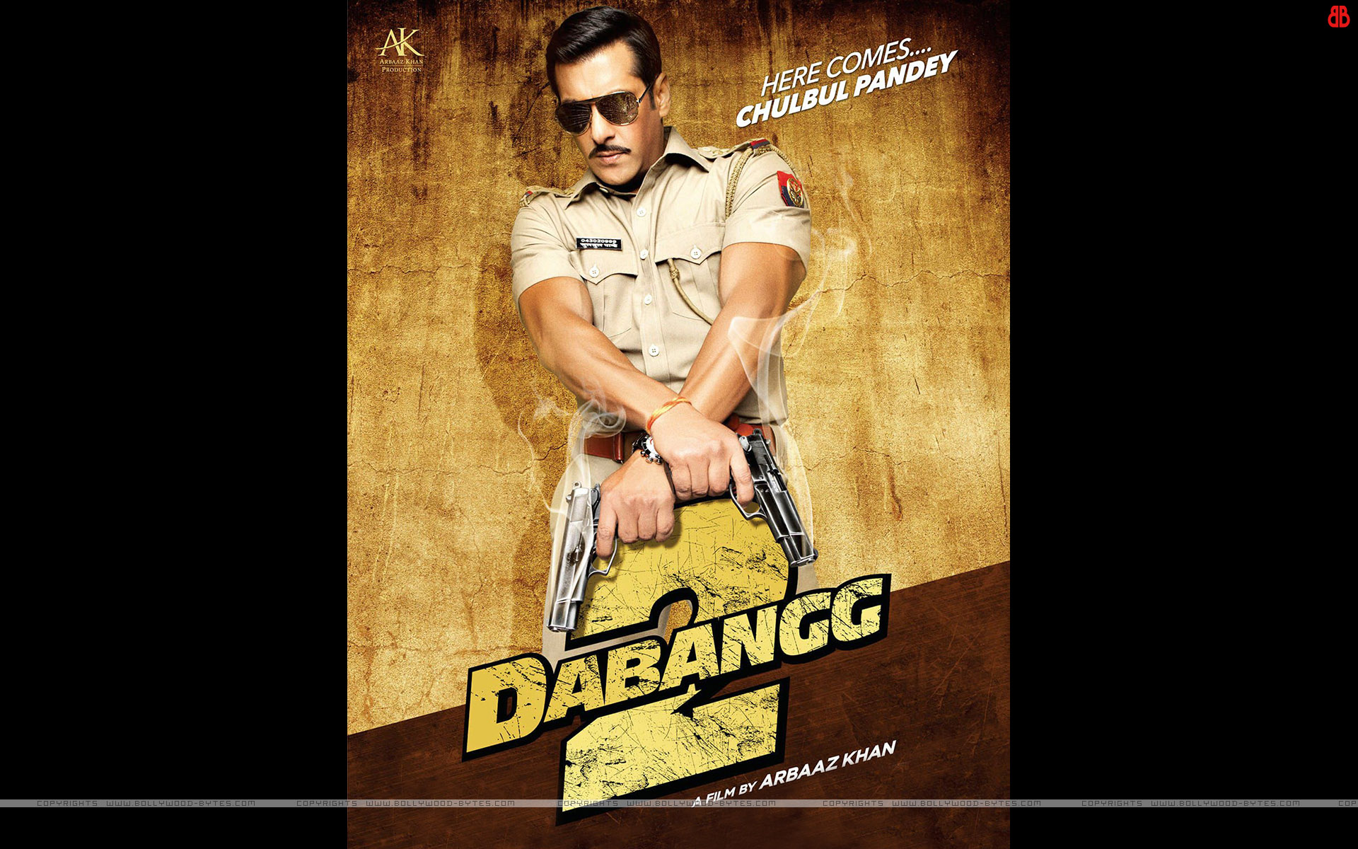 Dabangg 2 HD Wallpapers Starring Salman Khan, Sonakshi ...
