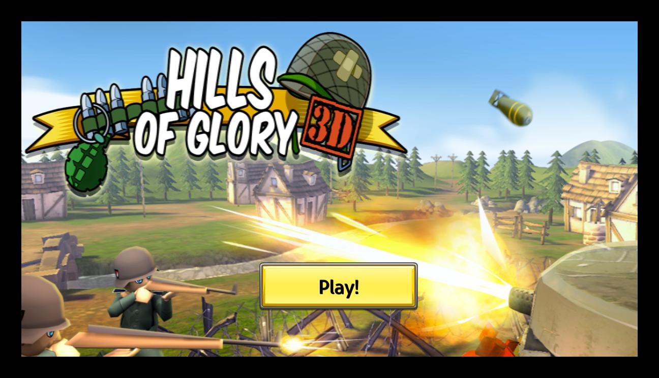 Hills Of Glory 3D - Katılımsız Oyun