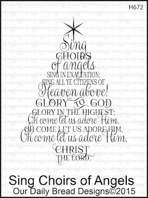 Our Daily Bread Designs Stamp set - Sing Choirs of Angels