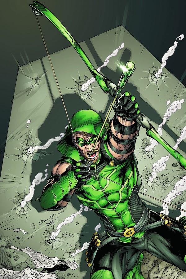 green arrow comics