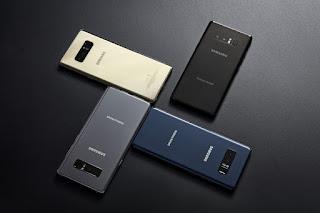 سعر و  موصفات و مميزات هاتف سامسونج جالاكسي  نوت 8 - Samsung Galaxy Note8