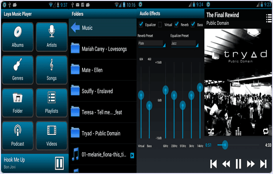 android Laya Music Player