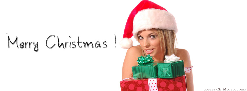 Christmas Girl Facebook Timeline Cover