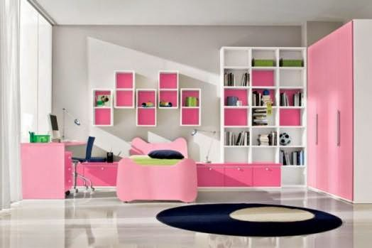 Wall mounted Library In Children Rooms 3