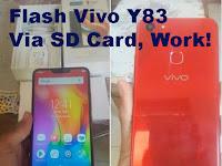 Cara Flash Vivo Y83 Tanpa PC Dengan Mudah Hanya Menggunakan Memory Card (SD Card) Di Jamin Sukses 100%