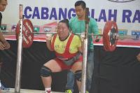 Angkat Berat Kota Padang Di Porprov Sumabar Rahi Medali