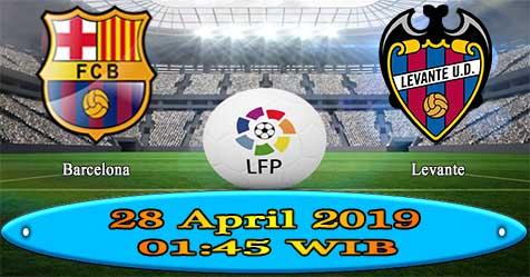 Prediksi Bola855 Barcelona vs Levante 28 April 2019