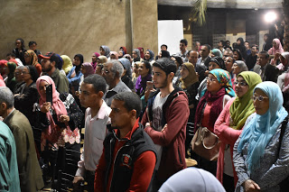 Sorak Gembira Warga Mesir Sambut Atmosfer Indonesia
