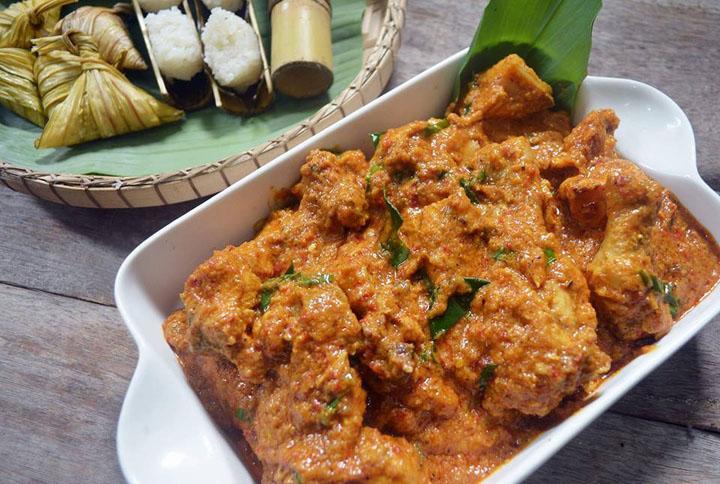 Resepi Rendang Ayam Mudah dan Sedap untuk Hari Raya