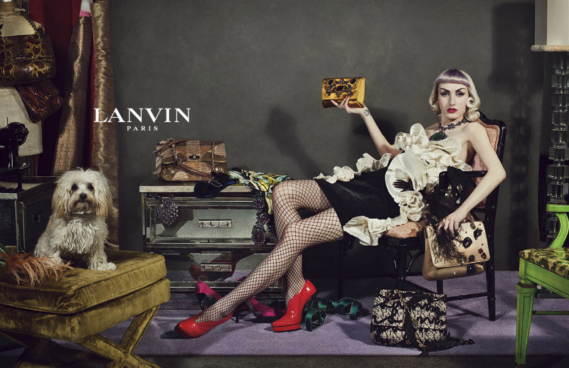LANVIN'S Fall 2012 CAMPAIGN by STEVEN MEISEL