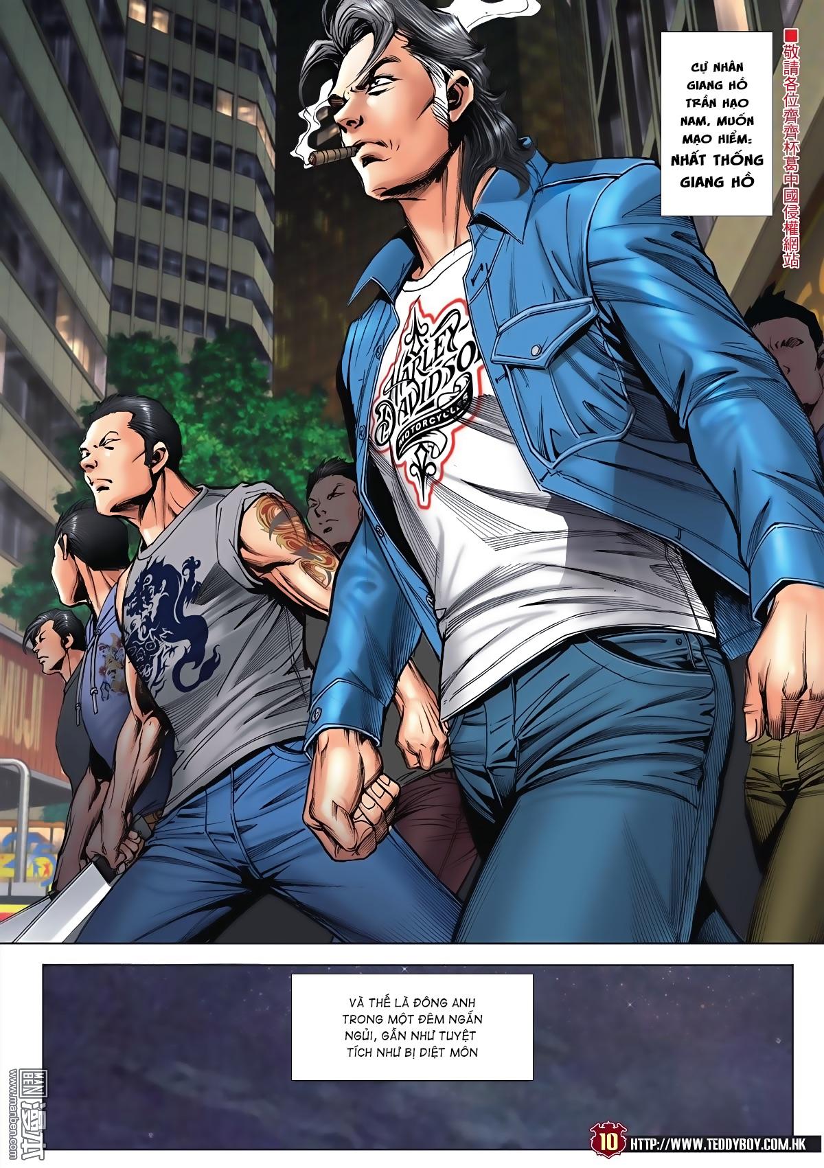 Người Trong Giang Hồ chapter 2045: câu chuyện thiên thu trang 9
