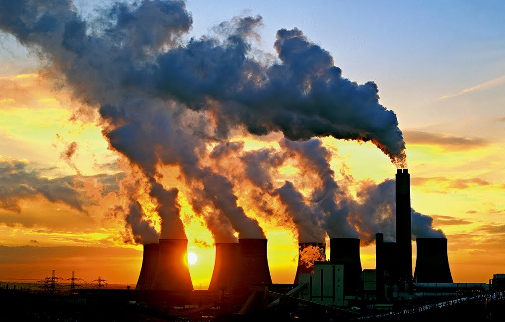Battuti Record livelli di emissioni globali di anidride carbonica (CO2).
