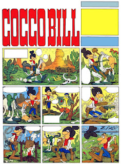Cocco Bill, the character Jacovitti created during his years working for Il Giorno