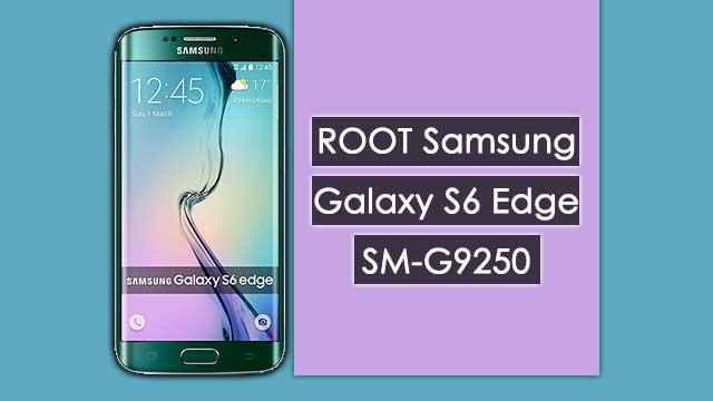 Cómo ROOTEAR Samsung Galaxy S6 Edge SM-G9250