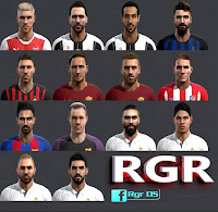 PES 2013 Fantasy Facepack 2016 by Rgr DS