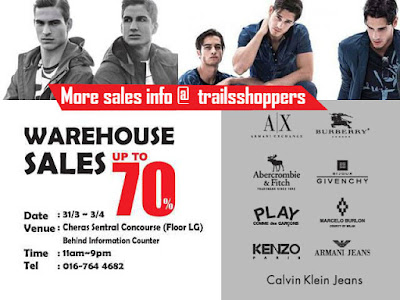 Cheras KL Branded Fashion Warehouse Sale