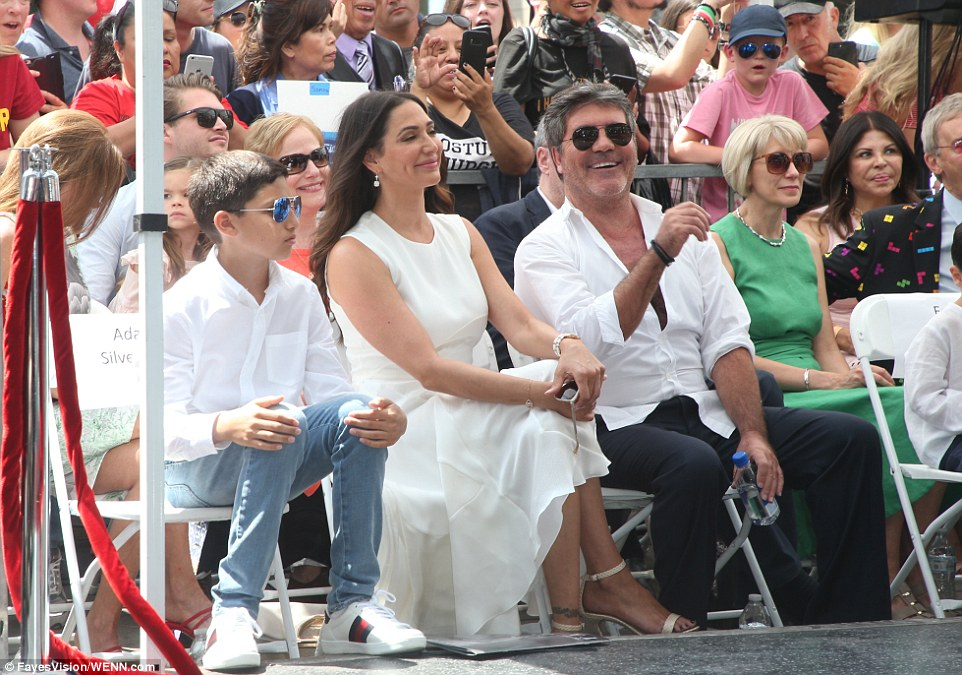 Simon Cowell receives star Hollywood Walk of Fame