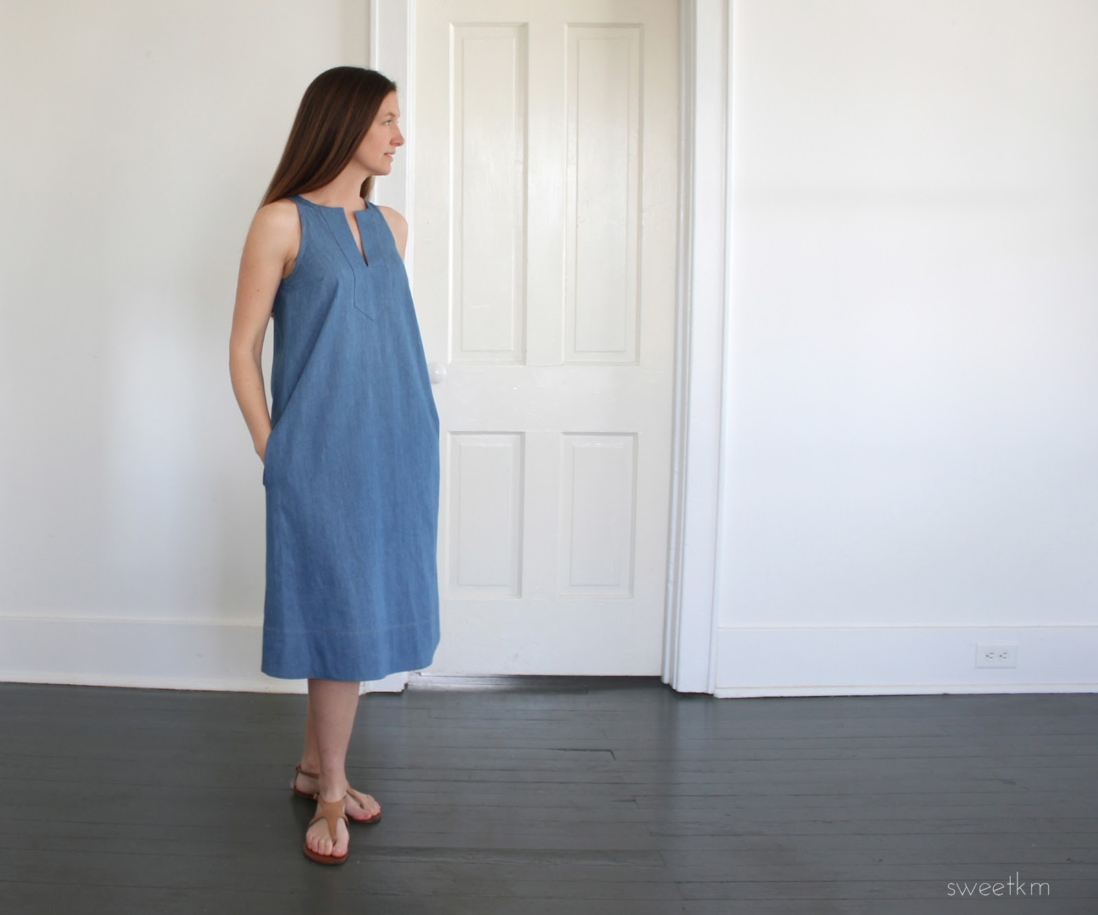 986f2d6a1d0979 SweetKM  Lengthened Colfax Dress