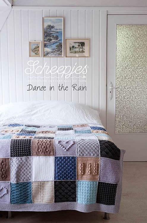 Scheepjes CAL: Last dance on the beach, yarn kit 'Last Dance in the Rain' | Happy in Red