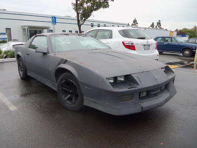 Almost Everything's Car of the Day is a 1987 Chevrolet Camaro IROC--Before Painting--Before Painting