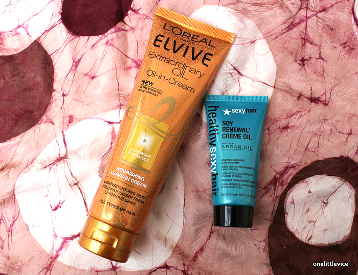 one little vice beauty blog: hydrating leave in products for fine hair
