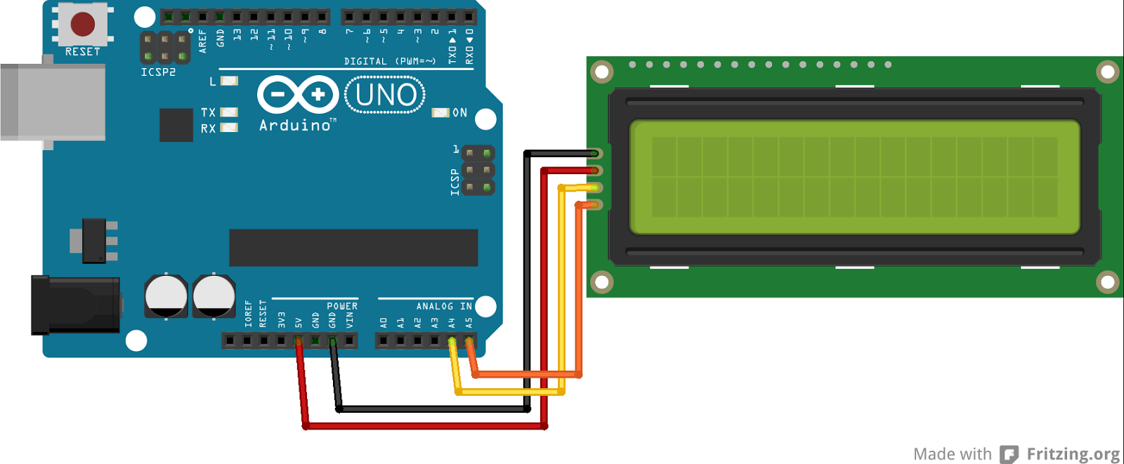 Panduan Lengkap Penggunaan 1602 / 2004 IIC i2C LCD untuk Arduino