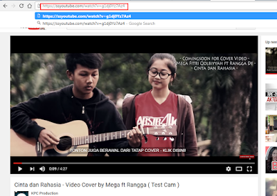Cara Download Video di Youtube Tanpa Software (savefrom.net)
