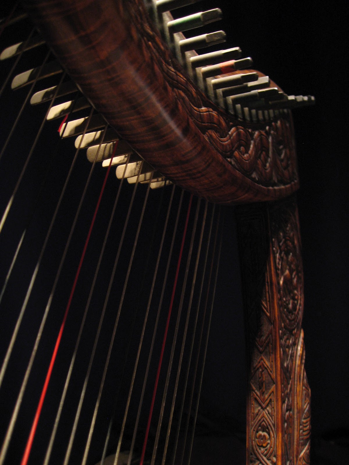 scotlandsmusic: Henry Briggs - 20th century Scottish harp maker