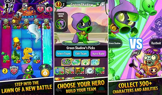 Plants vs. Zombies Heroes Apk v1.14.13 Mod Free Android
