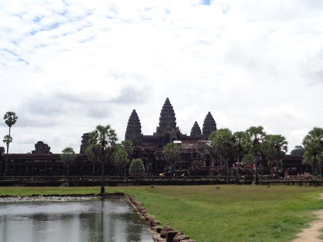 Panorámica - Angkor Wat (Camboya)