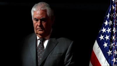 ရာထူးကဖယ္ရွားခံရသူ ၀န္ႀကီး Tillerson သတင္းစာရွင္းလင္းပြဲ