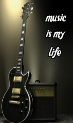 Music Is My Life Mobile Wallpaper | Mobile Wallpapers | Download Free Android, iPhone, Samsung ...
